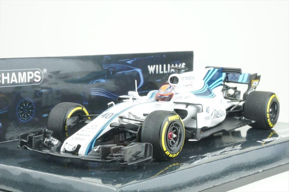 ミニチャンプス 1/43 ウィリアムズ マルティニ メルセデス FW40 No.40 2017 F1 アブダビGP テスト走行 R.クビサ 完成品ミニカー 417172040