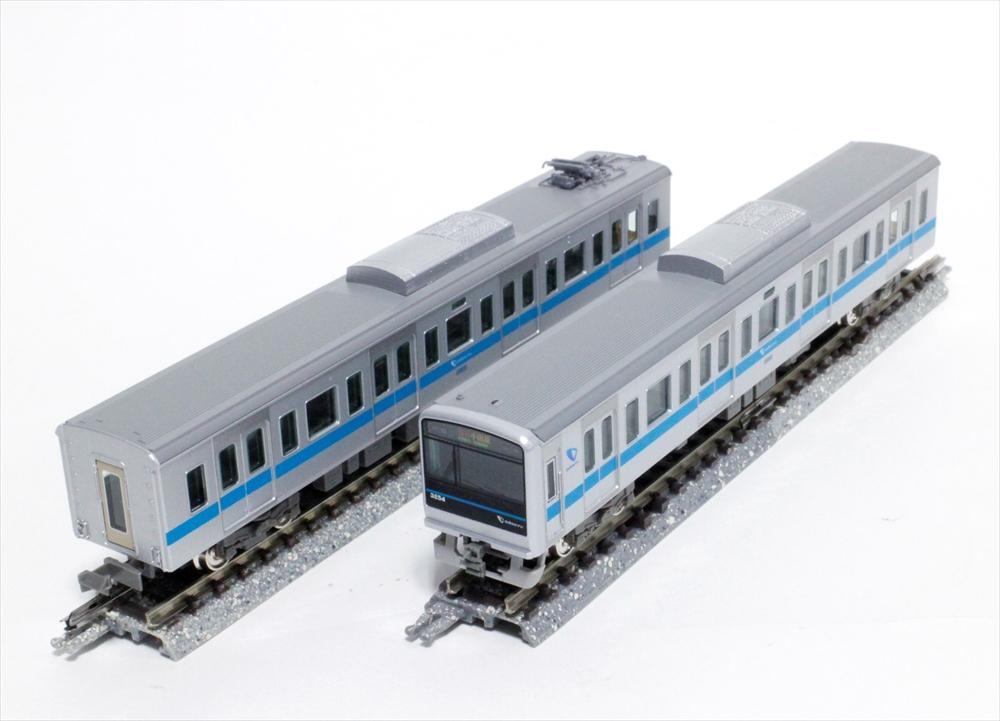 グリーンマックス Nゲージ 小田急3000形1次車(3254編成・ブランドマーク付き)6両編成セット 動力付き 鉄道模型 30702