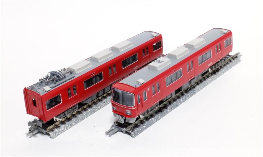 グリーンマックス Nゲージ 名鉄3500系(機器更新車・3507編成)増結4両編成セット(動力無し) 鉄道模型 30775