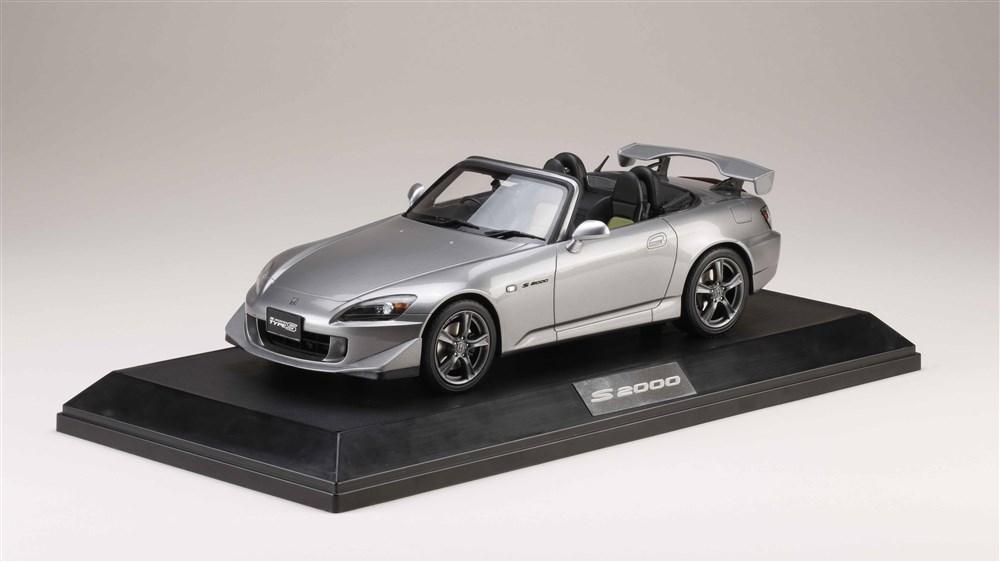 ホビージャパン 1/18 ホンダ S2000 タイプS ムーンロックメタリック 完成品ミニカー HJ1810SGM