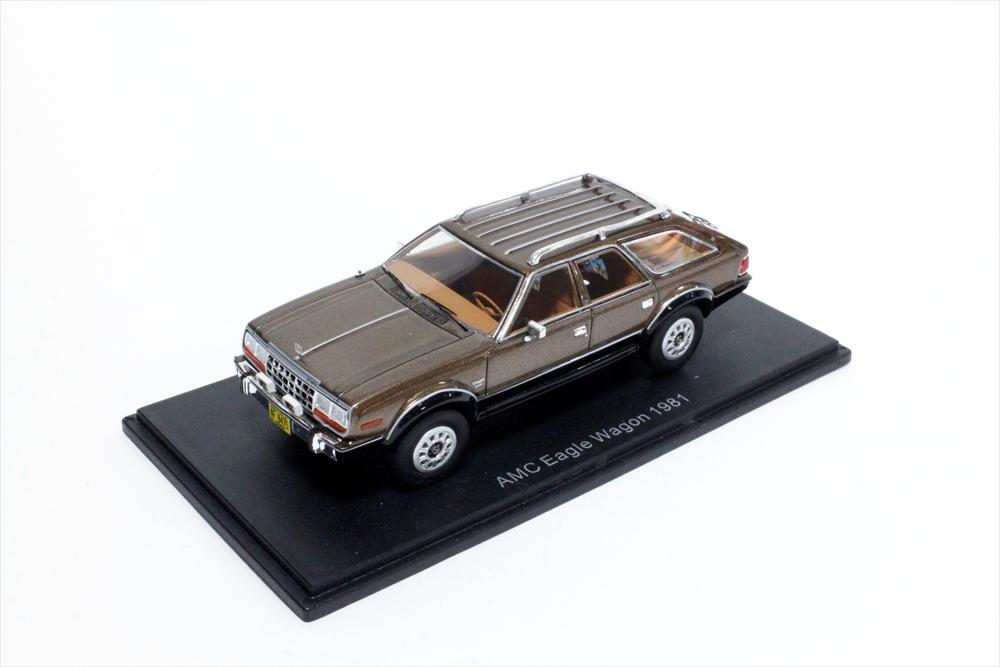 ネオ 1/43 AMC イーグル 1981 メタリックブラウン 完成品ミニカー NEO46555