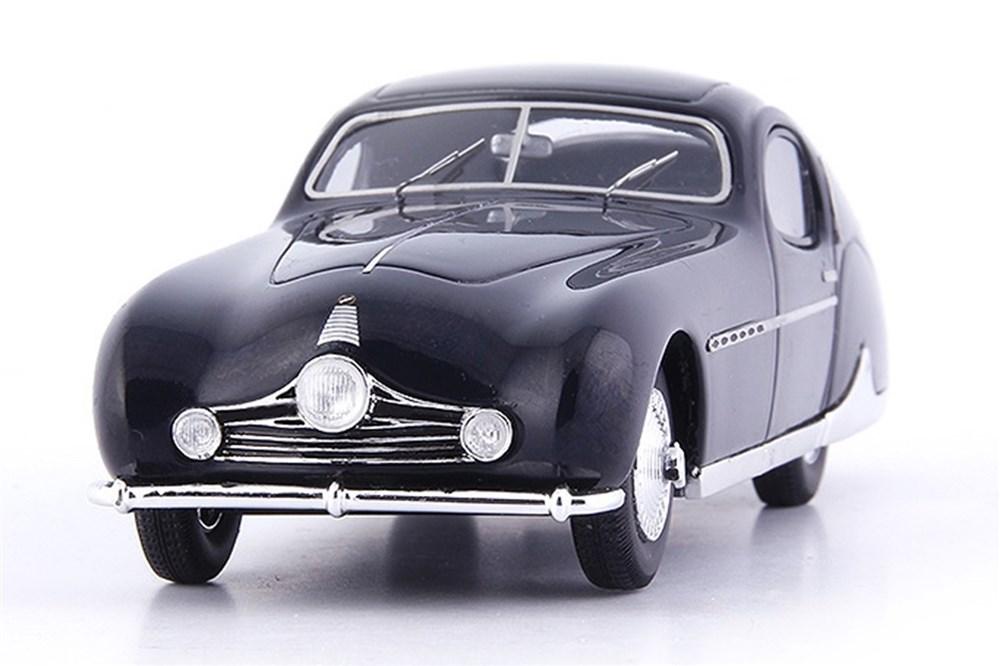 オートカルト 1/43 タルボ・ラーゴ T26 グランドスポーツクーペ 1949 ダークブルー 完成品ミニカー 2019