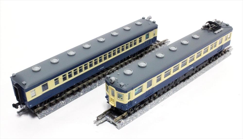 マイクロエース Nゲージ 国鉄モハ43系+54系 スカ色 飯田線「さようならゲタ電」号 4両セット 鉄道模型 A1289