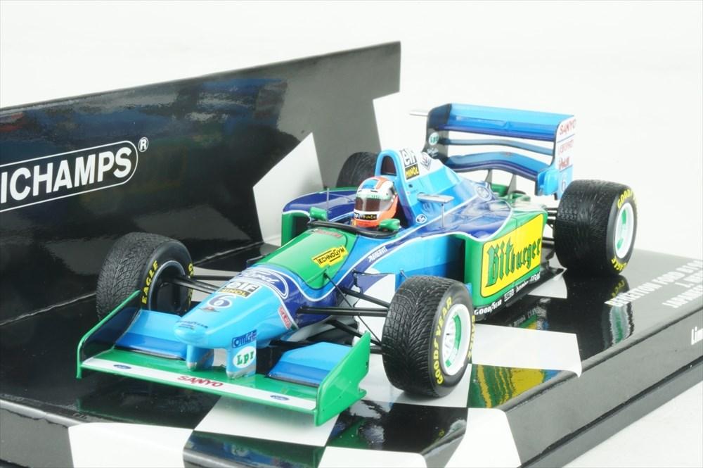 ミニチャンプス 1/43 ベネトン フォード B194 1994 F1 日本GP J.ハーバート 完成品ミニカー 417941506
