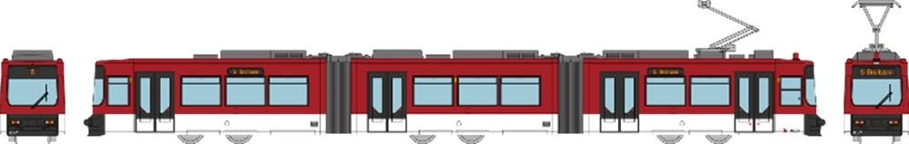 トミーテック Nゲージ 鉄道コレクション ブラウンシュヴァイクトラム GT6Sタイプ 鉄道模型 301561