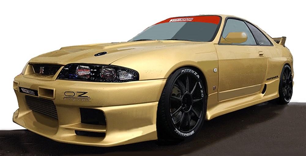 【予約】 イグニッションモデル 1/18 トップシークレット ニッサン GT-R BCNR33 ゴールド 完成品ミニカー IG1925