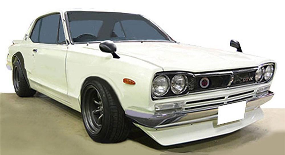 イグニッションモデル 1/43 ニッサン スカイライン 2000 GT-R KPGC10 ホワイト 完成品ミニカー IG1930