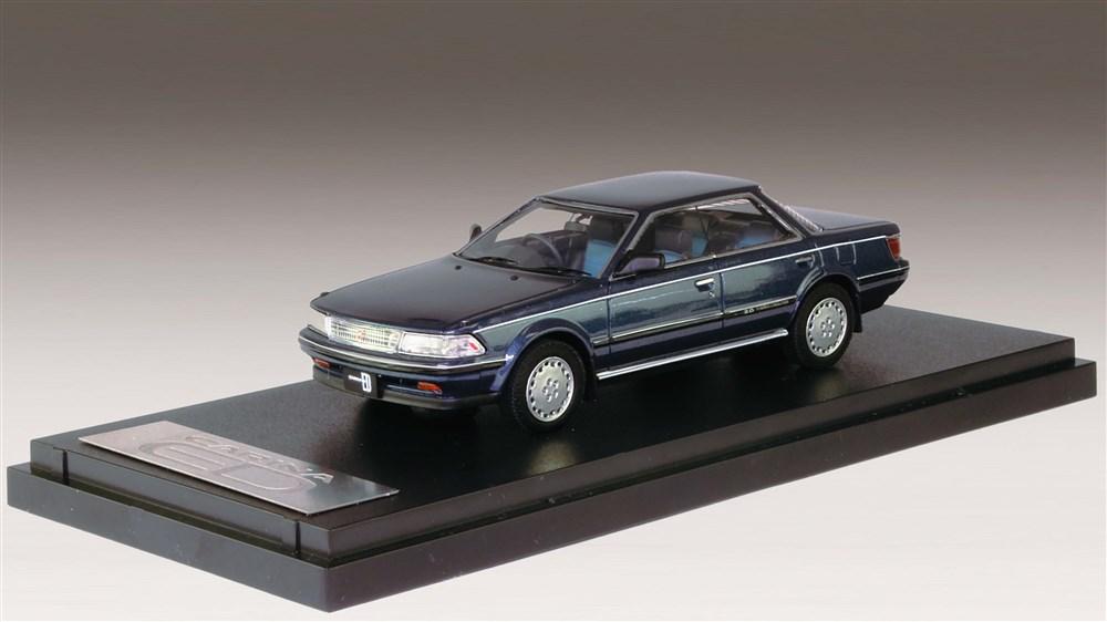 MARK43 1/43 トヨタ カリーナED G-Limited 1987 ブラッキッシュブルーマイカメタリック 完成品ミニカー PM43110BL