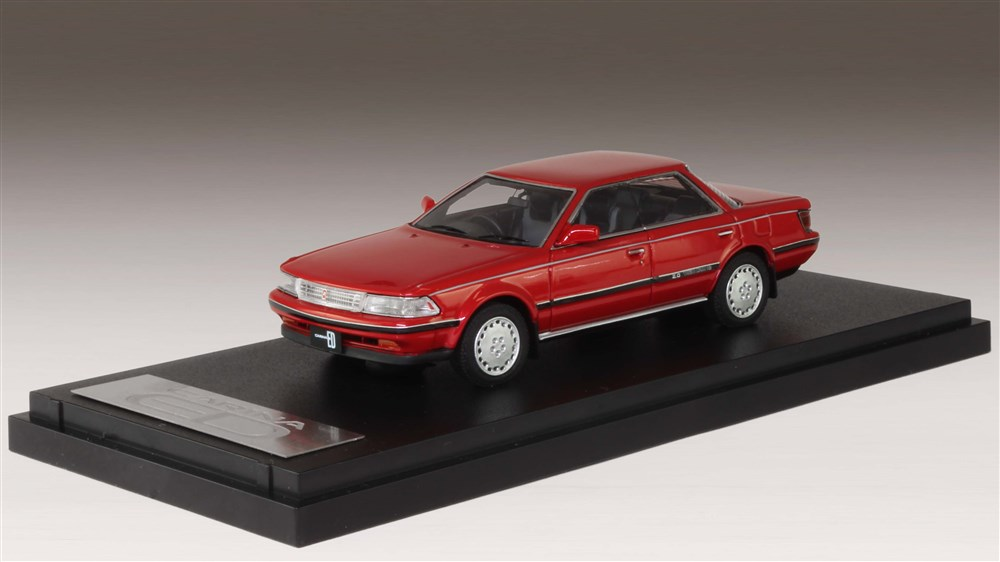 MARK43 1/43 トヨタ カリーナED G-Limited 1987 レッドマイカ 完成品ミニカー PM43110R