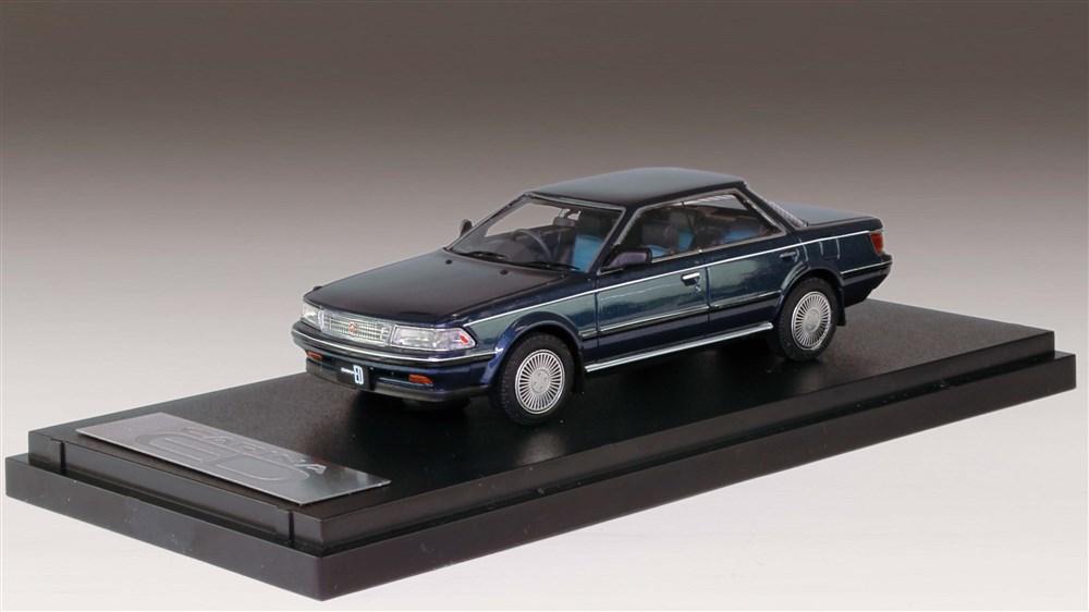 MARK43 1/43 トヨタ カリーナED 2.0X 1987 ブラッキッシュブルーマイカメタリック 完成品ミニカー PM43110XBL