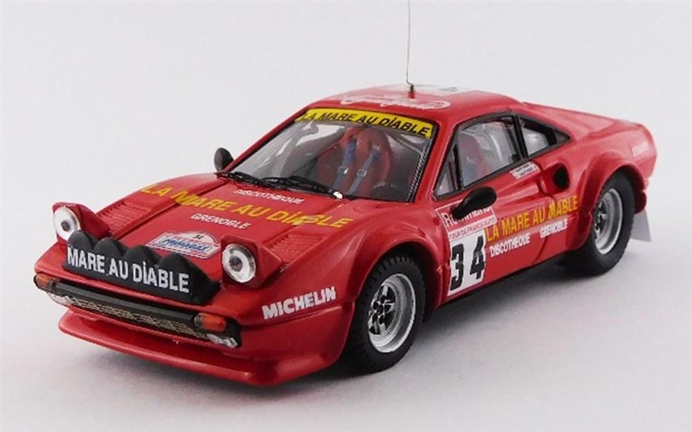 土日出荷可能 完成品ミニカー ベストモデル 1 43 本日限定 フェラーリ 無料 308 GTB フランス No.34 グループ4 ツール 1983 ド BEST9752 ゴーティエ