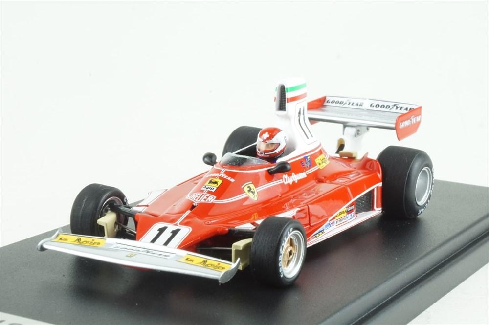 ルックスマート 1/43 フェラーリ 312T No.11 1975 F1 イタリアGP ウィナー C.レガツォーニ 完成品ミニカー LSRC60