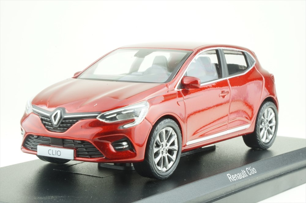 Renault Clio 2019 flame red diecast 1:43 Norev