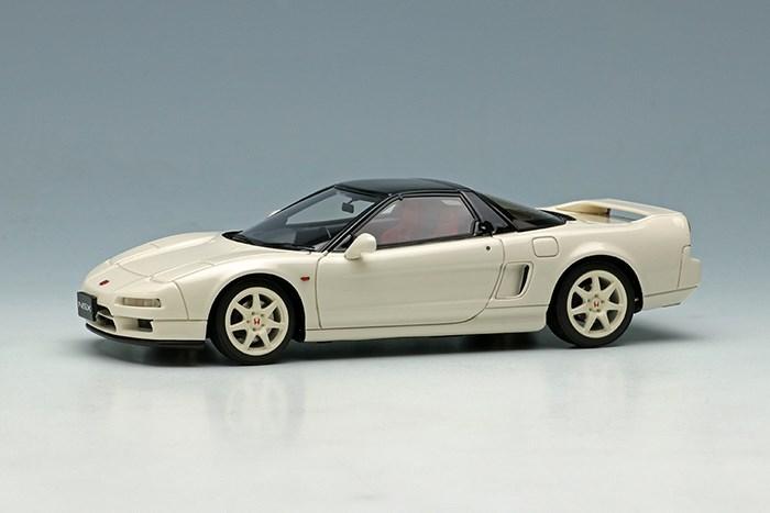アイドロン 1/43 ホンダ NSX-R NA1 1994 オプションホイール Ver. チャンピオンシップホワイト 完成品ミニカー EM470A