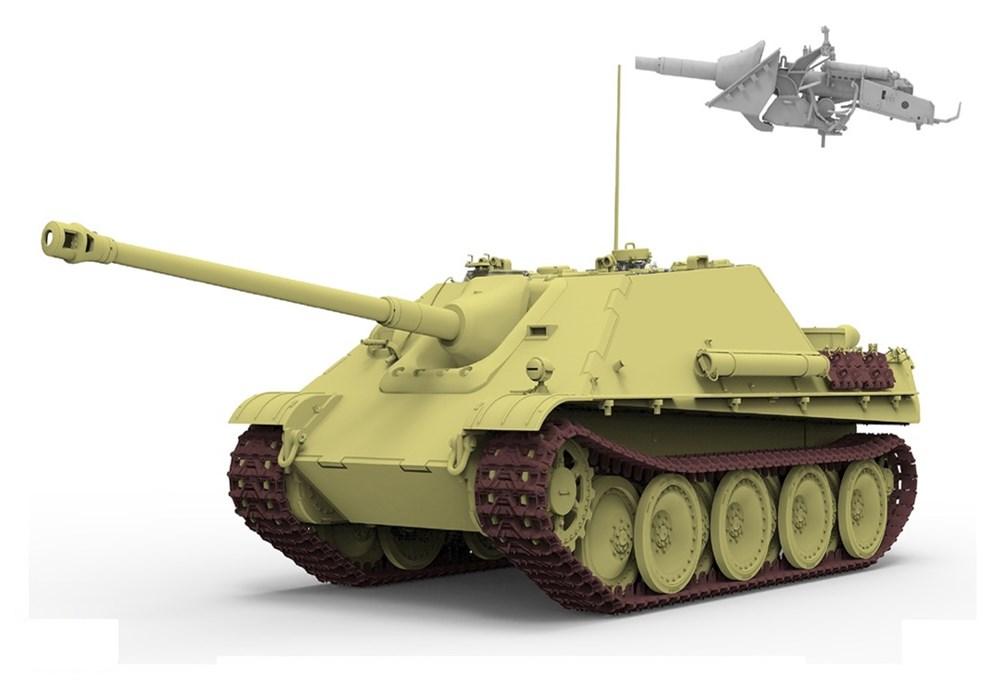 ライフィールドモデル 1/35 ヤークトパンター G2型 ドイツ重駆逐戦車w/可動式履帯 スケールプラモデル RFM5031