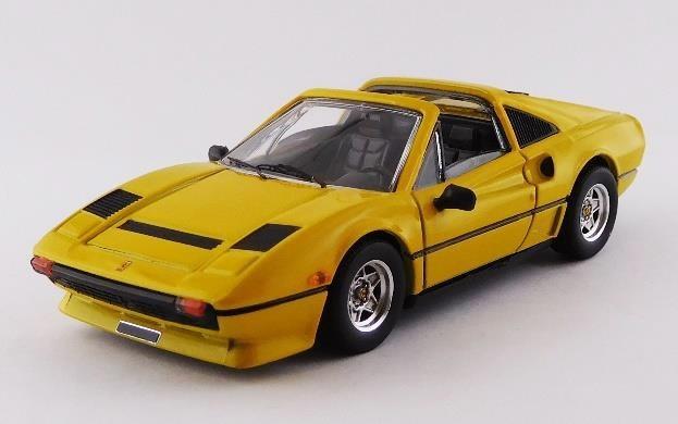 ベストモデル 1/43 フェラーリ 208 GTS ターボ 1983 イエロー 完成品ミニカー BEST9757