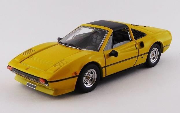 ベストモデル 1/43 フェラーリ 308 GTSi クアトロバルボーレ 1981 イエロー 完成品ミニカー BEST9758