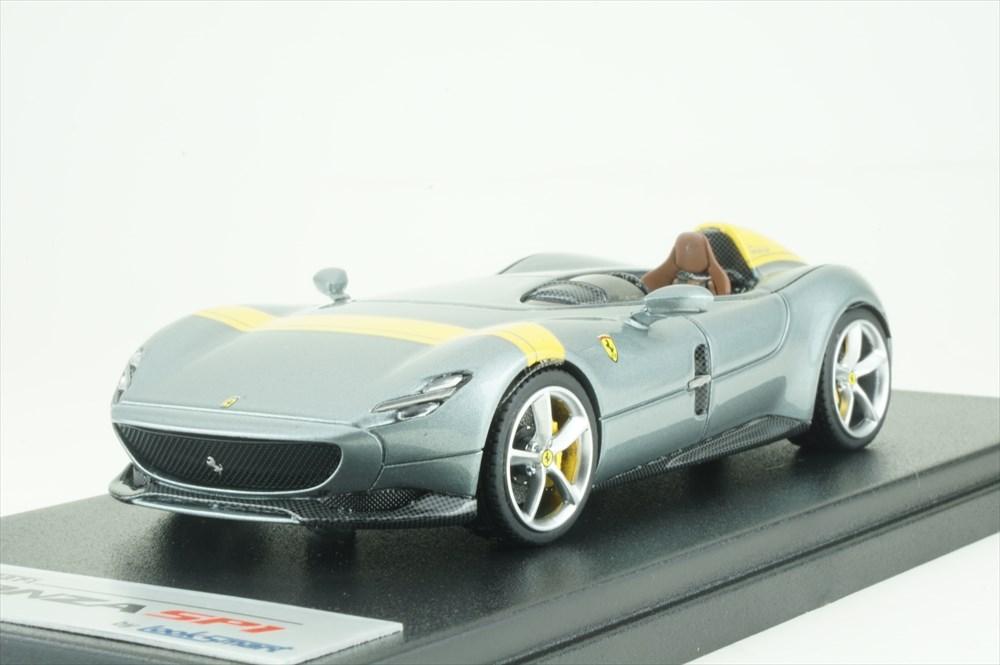 ルックスマート 1/43 フェラーリ モンツァ SP1 チタングレー 完成品ミニカー LS499A