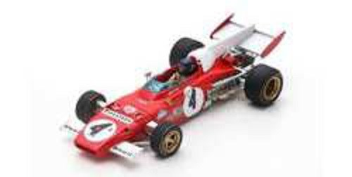 ルックスマート 1/43 フェラーリ 312 B2 No.4 1972 F1 ドイツGP ウイナー J.イクス 完成品ミニカー LSRC014
