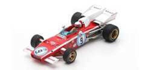 ルックスマート 1/43 フェラーリ 312 B2 No.9 1972 F1 アルゼンチンGP 4位 C.レガツォーニ 完成品ミニカー LSRC016