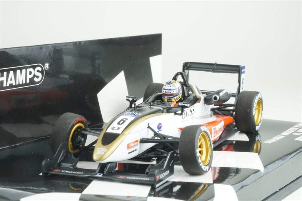 ミニチャンプス 1/43 ダラーラ 無限 F303 No.6 2003 マカオGP N.ロズベルグ 完成品ミニカー 410030306