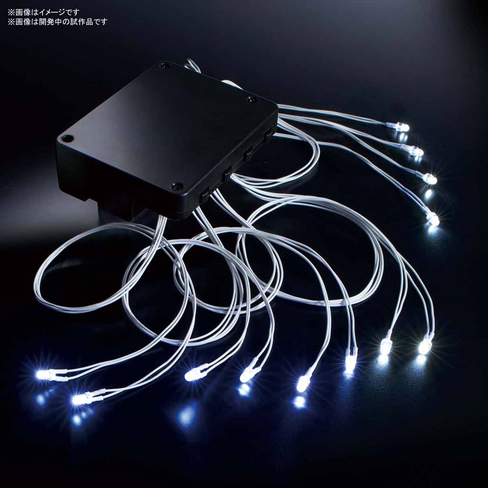 バンダイ LEDユニット(白)12灯式 模型用グッズ 5058225