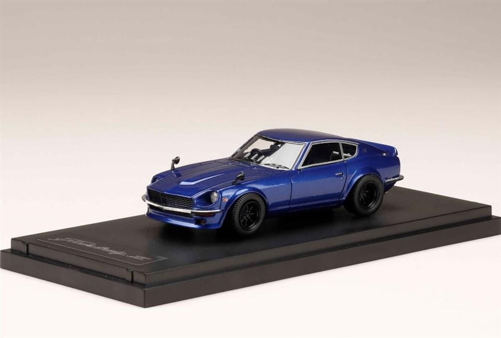 MARK43 1/43 ニッサン フェアレディZ S30 カスタムバージョン メタリックブルー 宮沢模型流通限定 完成品ミニカー PM43132BL