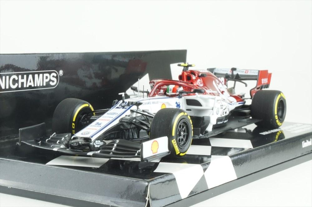 ミニチャンプス 1/43 アルファロメオ レーシング C38 No.99 2019 F1 中国GP A.ジョヴィナッツィ 完成品ミニカー 417190399