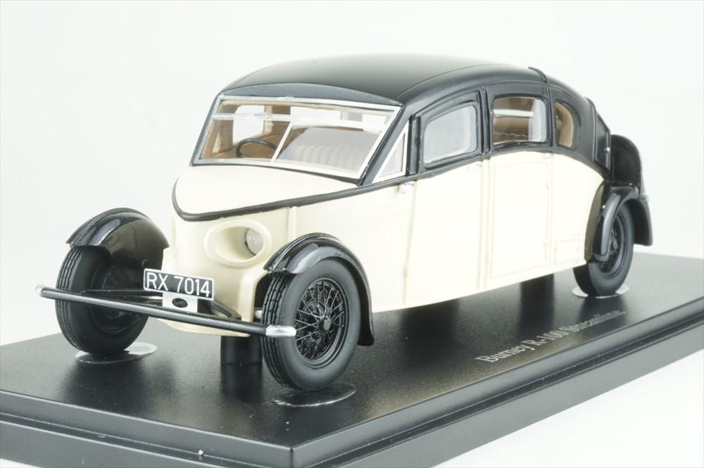 オートカルト 1/43 バーニー R-100 ストリームライン 1930 ブルー/アイボリー 完成品ミニカー 04022