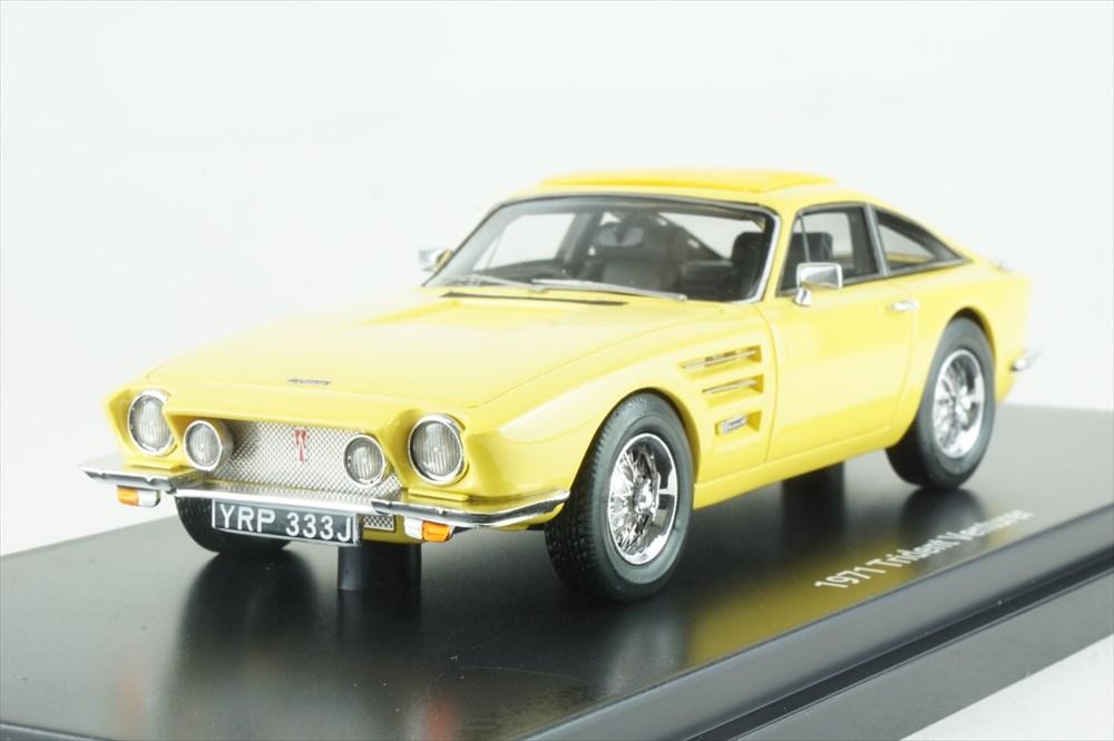 エスバルモデル 1/43 Trident Venturer スポーツ クーペ 1971 イエロー 完成品ミニカー EMEU43035B