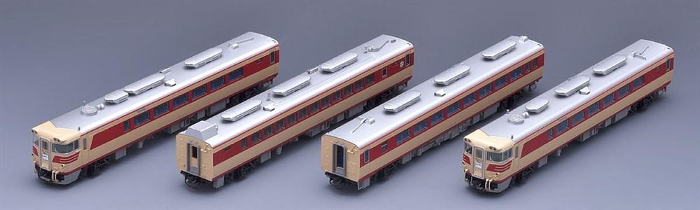トミックス Nゲージ 国鉄 キハ82系特急ディーゼルカー(北海道仕様)4両基本セット 鉄道模型 92573