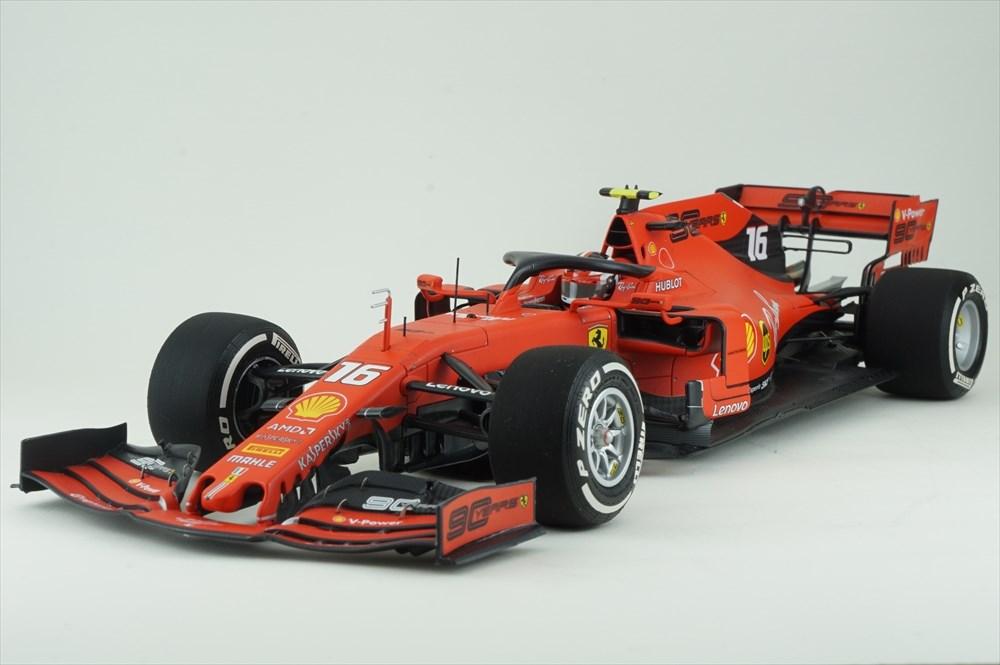 ミニチャンプス 1/18 フェラーリ SF90 No.16 スクーデリア 2019 F1 オーストラリアGP C.ルクレール 完成品ミニカー PBBR191816