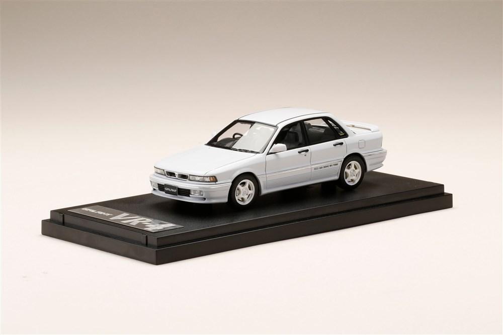 人気海外一番 土日出荷可能 完成品ミニカー MARK43 1 43 ミツビシ ギャラン E39A 1990 カスタムバージョン VR-4 PM43133CW いよいよ人気ブランド ソフィアホワイト