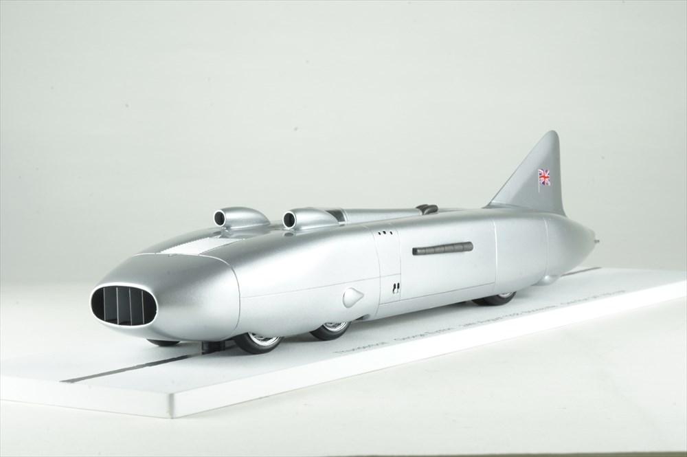 ビザール 1/43 サンダーボルト 1938 8月 第24回 ボンネビル One Run 347.155マイル時 G.エイストン 完成品ミニカー B1064