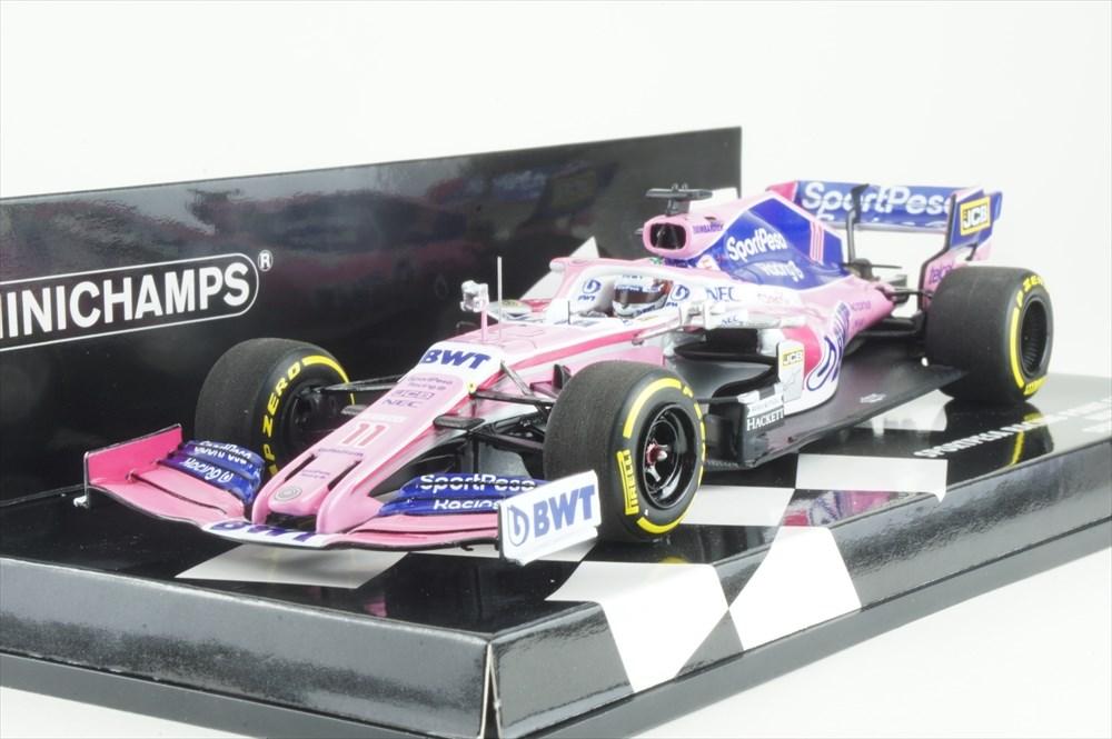 ミニチャンプス 1/43 メルセデス RP19 スポーツペサ レーシング ポイント F1チーム 2019 S.ペレス 完成品ミニカー 417190011