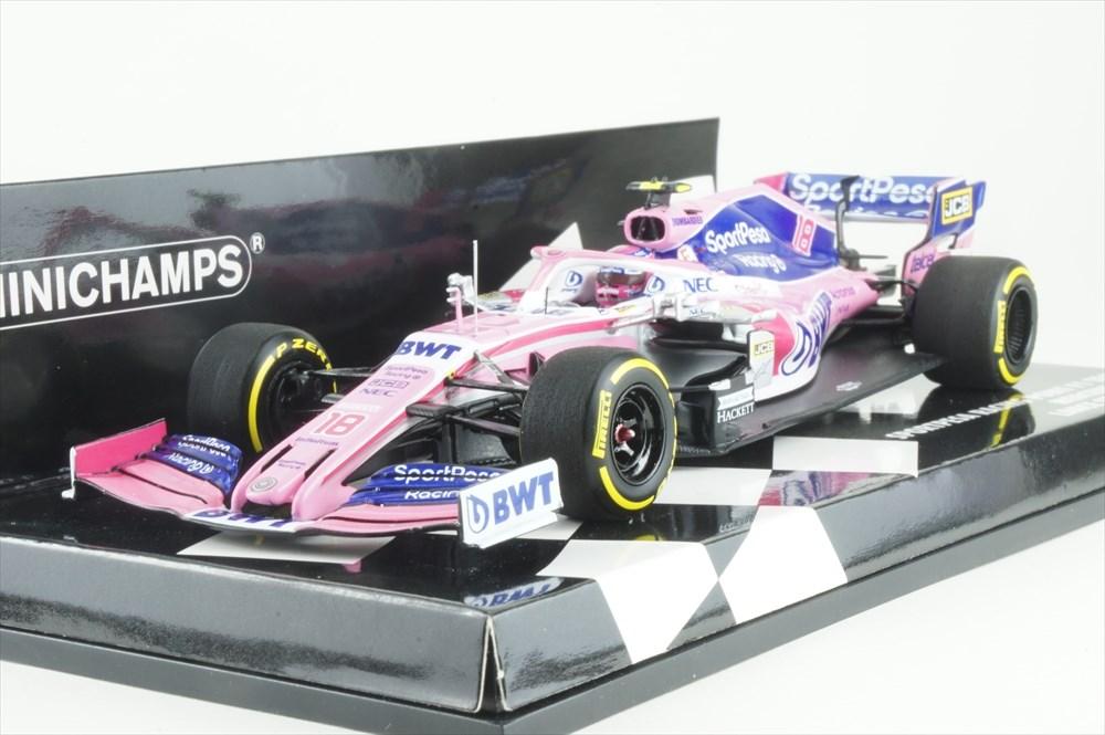 ミニチャンプス 1/43 メルセデス RP19 スポーツペサ レーシング ポイント F1チーム 2019 L.ストロール 完成品ミニカー 417190018