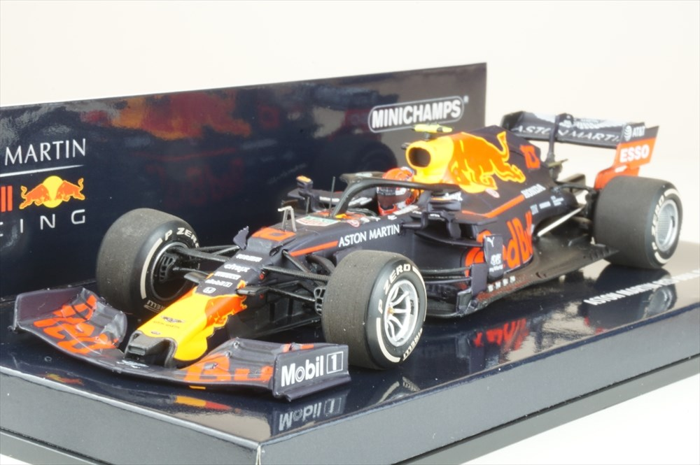 ミニチャンプス 1/43 アストン マーチン レッド ブル レーシング ホンダ RB15 2019 F1 オーストリアGP P.ガスリー 完成品ミニカー 410190910