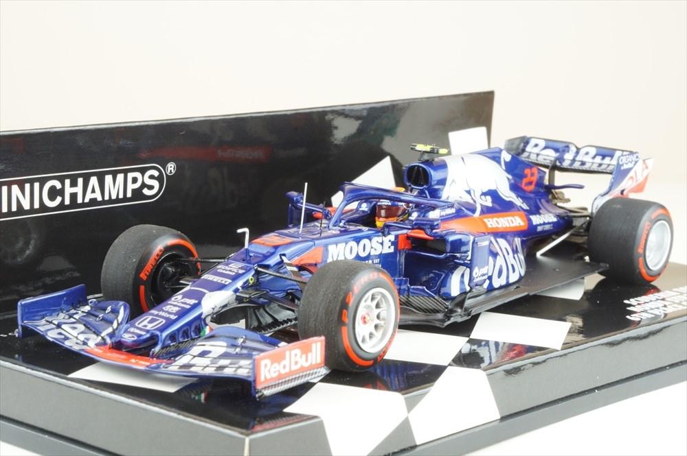 ミニチャンプス 1/43 スクーデリア トロロッソ ホンダ STR14 No.23 2019 F1 ドイツGP 6位 A.アルボン 完成品ミニカー 417191123