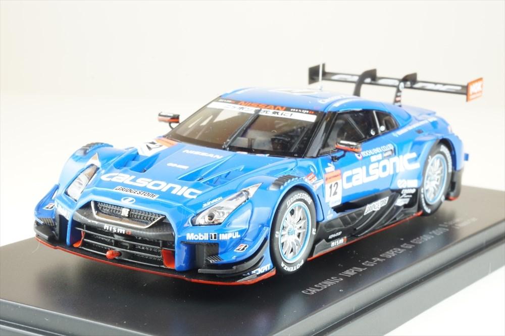 エブロ 1/43 カルソニック IMPUL ニッサン GT-R No.12 TEAM IMPUL 2019 SUPER GT GT500 佐々木 大樹/J.ロシター 完成品ミニカー 45715