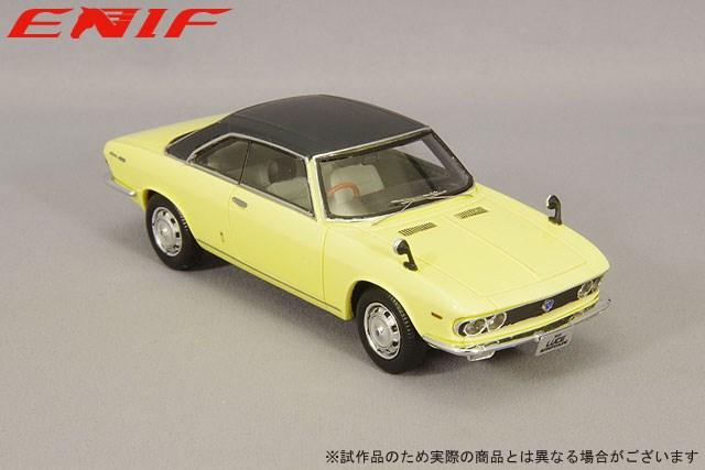 エニフ 1/43 マツダ ルーチェ ロータリークーペ 1969 ムーンライトイエロー/レザートップ 完成品ミニカー ENIF0061