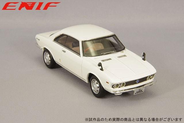 エニフ 1/43 マツダ ルーチェ ロータリークーペ 1969 アイガーホワイト 完成品ミニカー ENIF0062