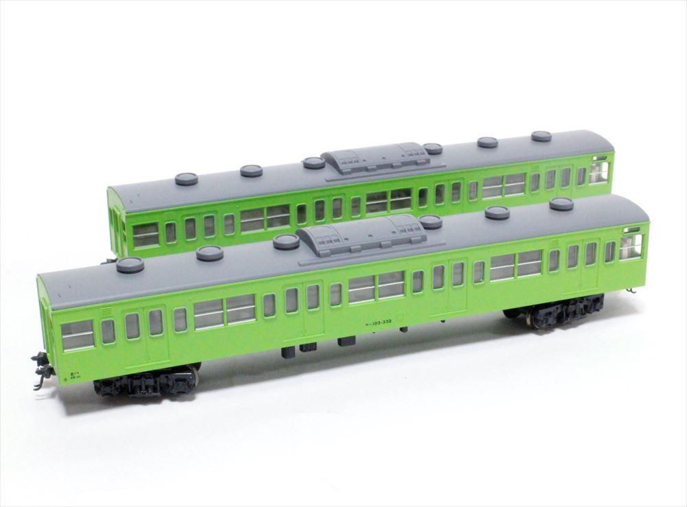 土日出荷可能 鉄道模型 KATO 商舗 Nゲージ 10-1190 全店販売中 103系低運転台車山手線4両増結セット