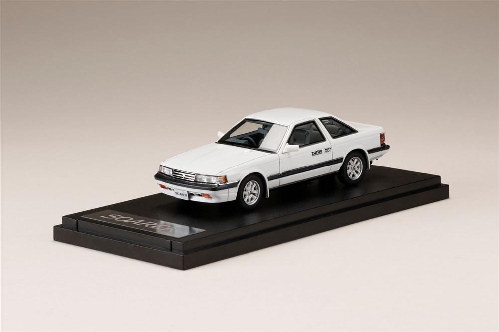 土日出荷可能 完成品ミニカー MARK43 日本限定 1 43 トヨタ ソアラ 1984 選択 PM43126W スーパーホワイト ターボ Z10 2.0