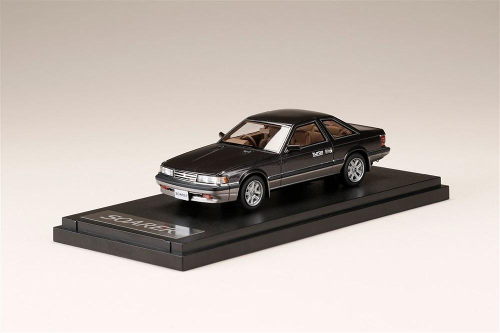 土日出荷可能 完成品ミニカー MARK43 NEW ARRIVAL NEW 1 43 トヨタ ソアラ PM43126BK ターボ 2.0 パフォーマンストーニング 1984 Z10