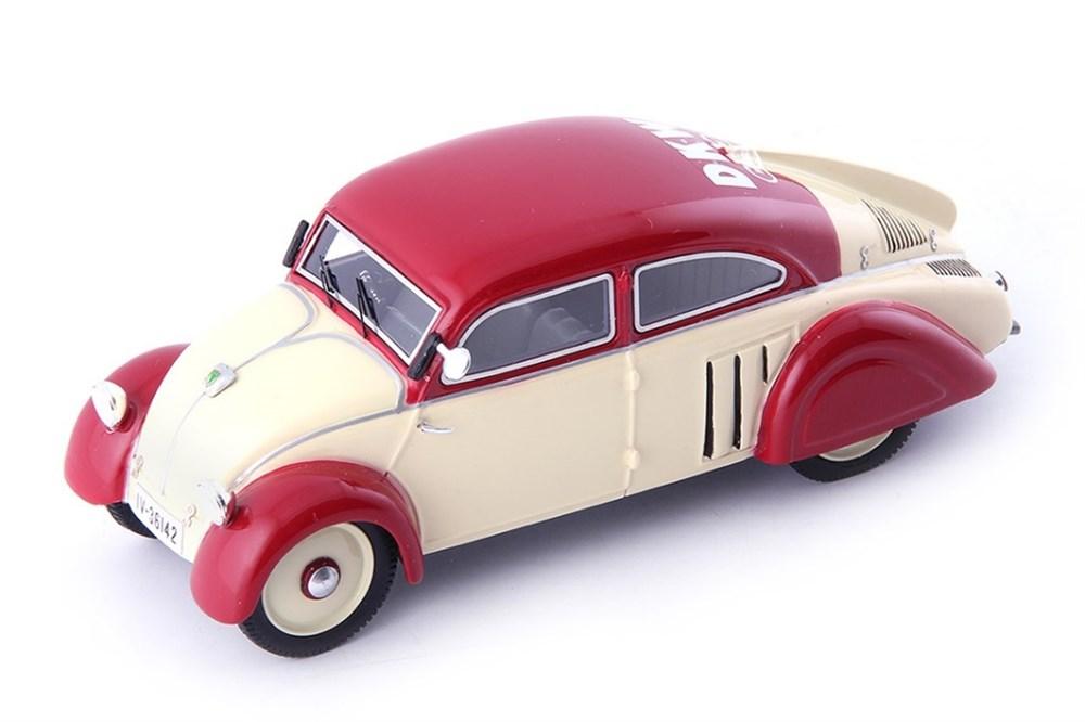オートカルト 1/43 DKW エアロ 1933 アイボリー/レッド 完成品ミニカー 04025