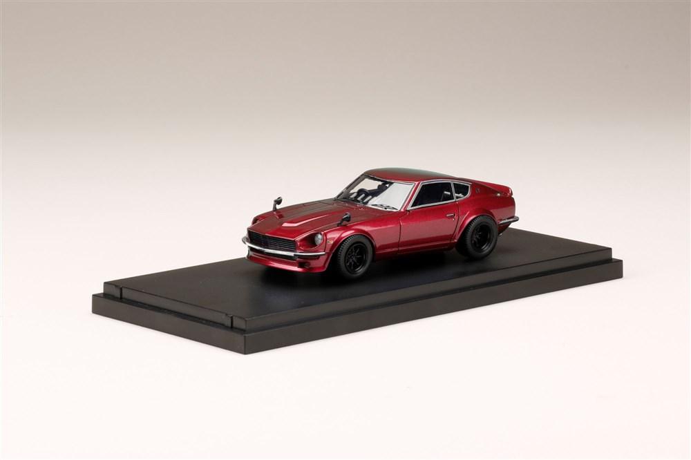 MARK43 1/43 ニッサンフェアレディ Z S30 カスタムバージョン メタリックレッド 完成品ミニカー PM43132R