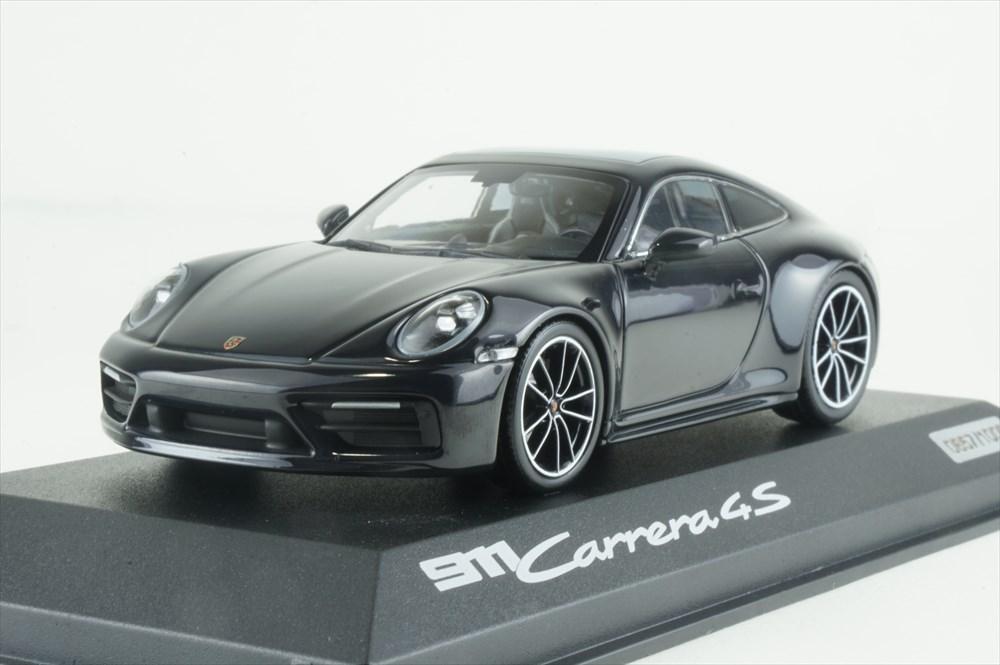 ディーラー別注 1/43 ポルシェ 911 C4S Belgian Legend X-ブルー 完成品ミニカー WAP0201800LEXC