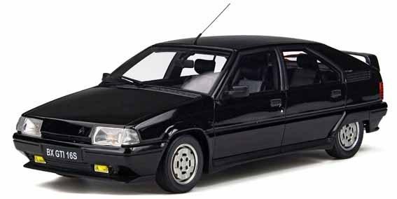 【予約】 オットーモビル 1/18 シトロエン BX GTI 16V ブラック 完成品ミニカー OTM818
