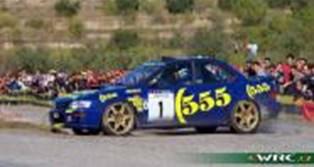 【予約】 サンスター 1/18 スバル インプレッサ 555 No.1 1996 WRC ラリー・カタルーニャ ウィナー M.コリン/R.デレク 完成品ミニカー 5516