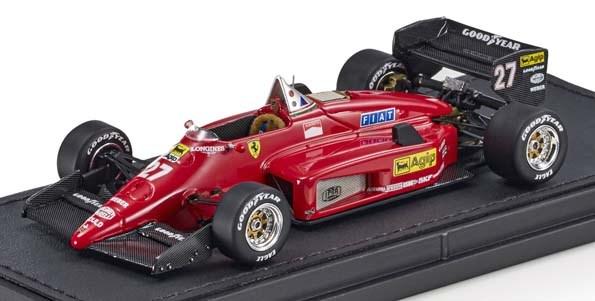【予約】 トップマルケス 1/43 フェラーリ 156-85 No.27 F1 M.アルボレート 完成品ミニカー GRP43010A